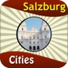 Salzburg Offline Map Travel Explorer