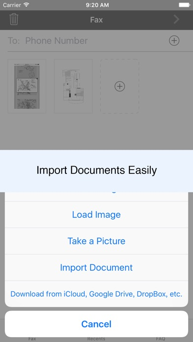 download Fax from phone   Scanner + send fax app   Fax Plus appstore review