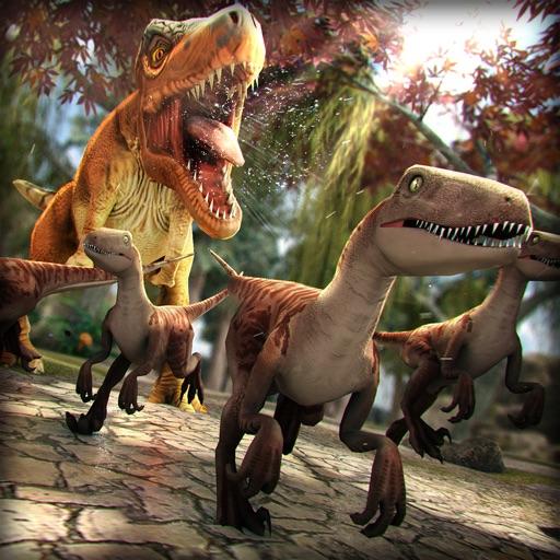 ジュラ紀 ディノ 動物園 . 無料 恐竜 ハンター シミュレータ ゲーム 子供のため