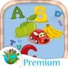 ABC развивающие игры для детей крась буквы-PRO
