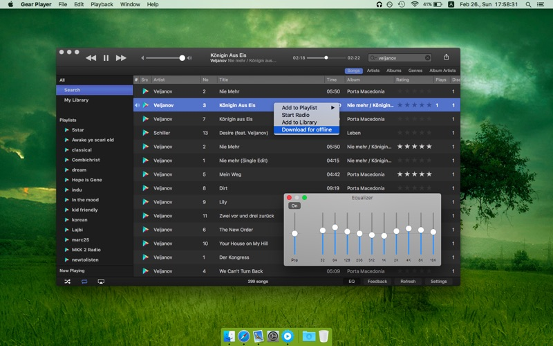 Gear Music Player on the Mac App Store