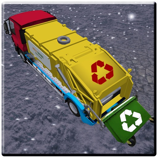 Mountain Off-road Garbage Truck Driving simulator iOS App