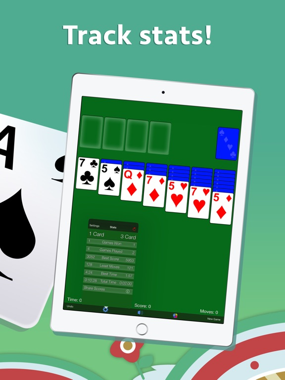 how to play solitaire on ipad