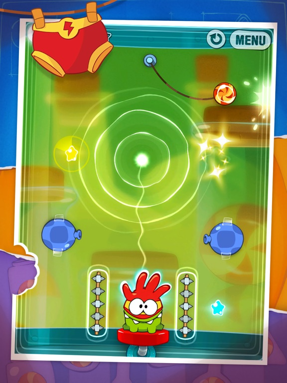 Screenshot #1 for Cut the Rope: Experiments HD ™