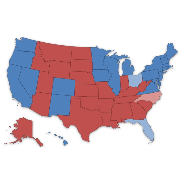 Presidential Election Electoral College Maps On The App Store - Us presidential election voter map