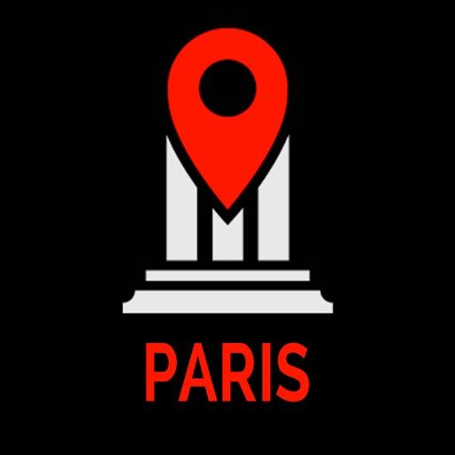 Paris guide voyage Monument Tracker carte offline