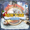 Hidden Objects New York City Winter Time Christmas