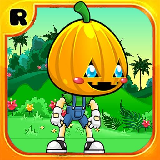Super Pumpkin Hero Jungle Run 2 iOS App