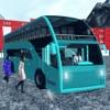 オフロード観光雪バス ドライブ - ヒルクライム