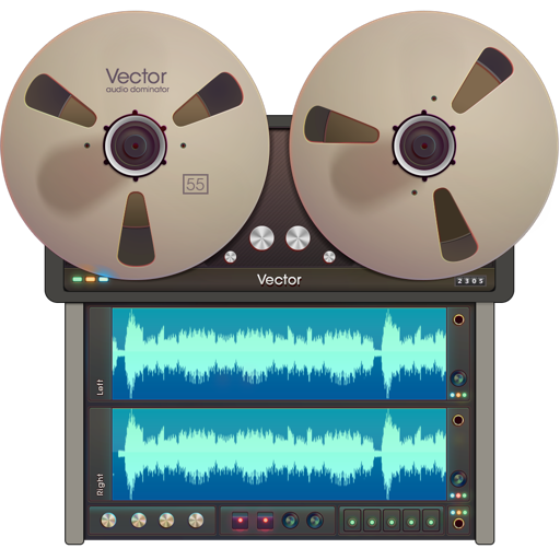 Vector 3 - Audio Recorder and Editor For Mac