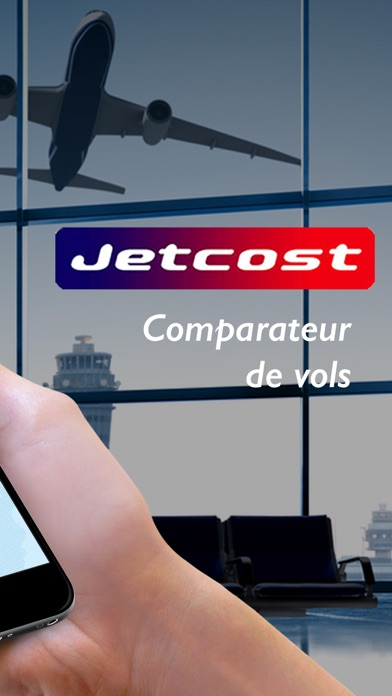 jetcost comparateur de vol h tels voitures dans l app store. Black Bedroom Furniture Sets. Home Design Ideas