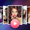 Crear diapositivas - editor de vídeos con música
