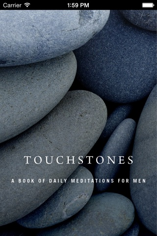 Touchstones: Daily Meditations for Men in Recovery screenshot 1