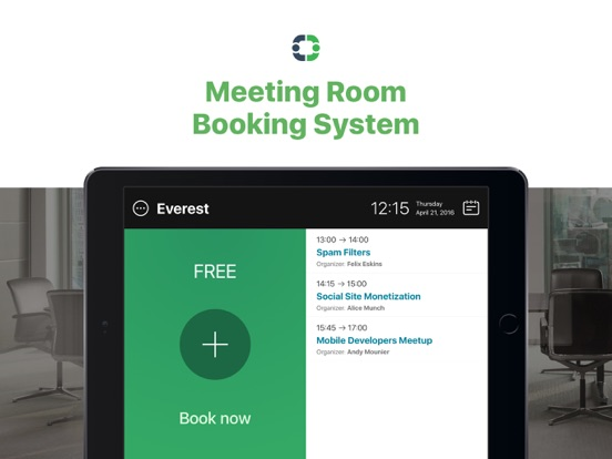 MeetingRoomApp Booking System On The App Store