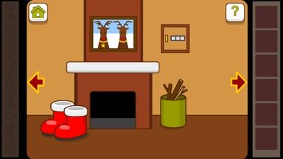 脱出ゲーム:クリスマス部屋エスケープ(無料推理なぞなぞげーむ簡単)のスクリーンショット3