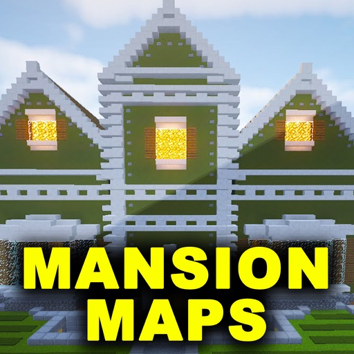 Mansion Maps For Minecraft PE ! iOS App