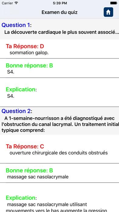 Questionnaire d'infirmière praticienneCapture d'écran de 5