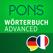 Wörterbuch Französisch - Deutsch ADVANCED von PONS