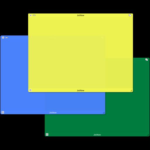 JotNow - Sticky Note Manager