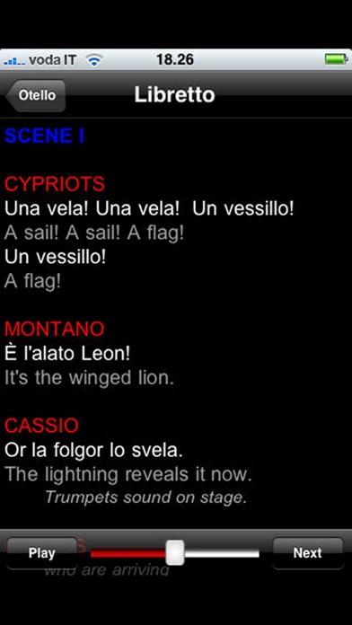 Screenshot of Opera: Otello4
