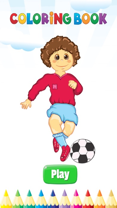 Sports Coloring Book Activities For Kid