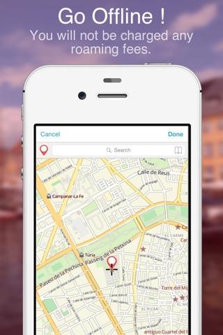 Valencia on Foot : Offline Map screenshot 4