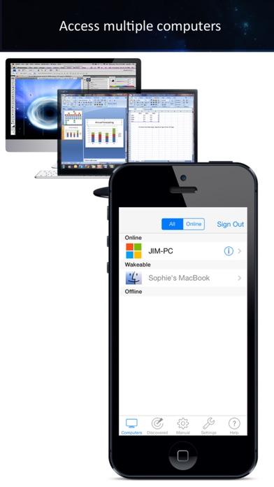 iTeleport 远程桌面 截图3