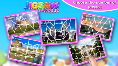 Screenshot #5 for Princess Castle Jigsaw Puzzle - Jiggy Puzzle Pack