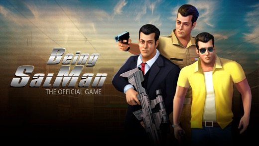 Being SalMan: The Official Game Screenshot