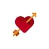 Love stickers pour la Saint Valentin