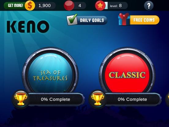 Classic keno game