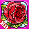 Flowers Colouring Pages Mandala Red Rose Fun Games