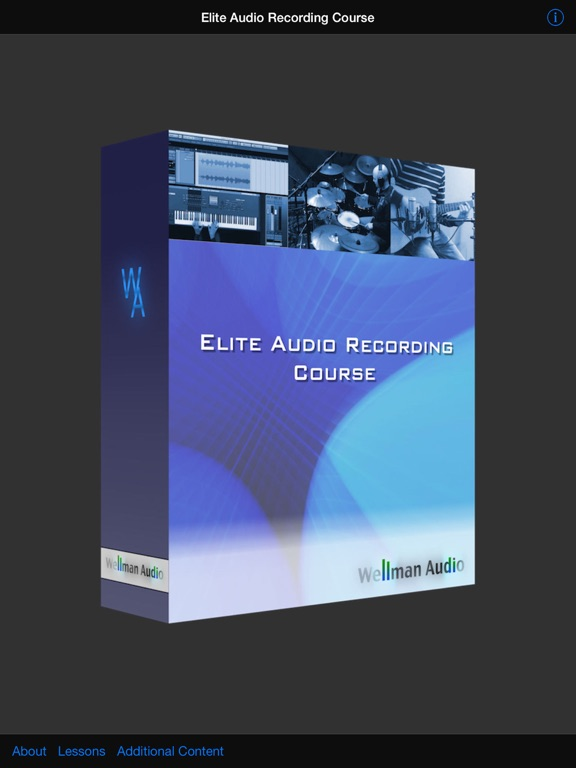 Elite Audio Recording Course Screenshots