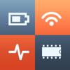 System Status - CPU, memory, battery, disk monitor