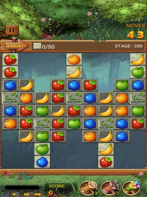 Фруктовый лес: Радужное яблоко Скриншоты10