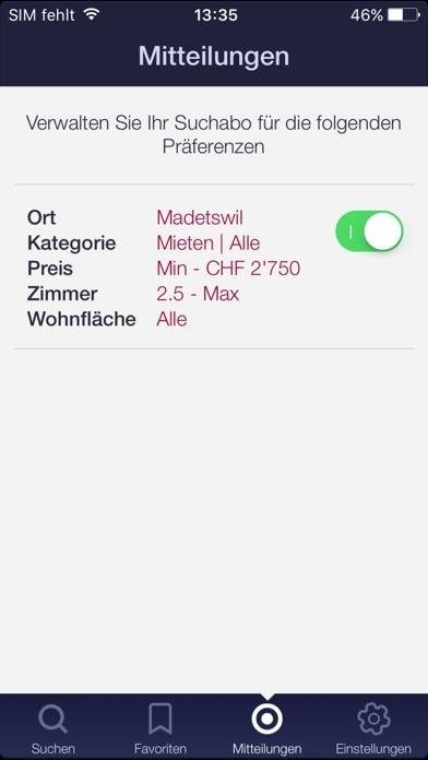 Screenshot von home.ch5