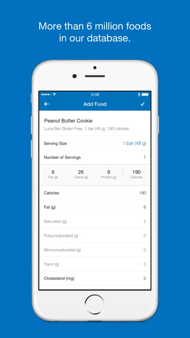 Calorie Counter Diet Tracker by MyFitnessPal on the App Store - what