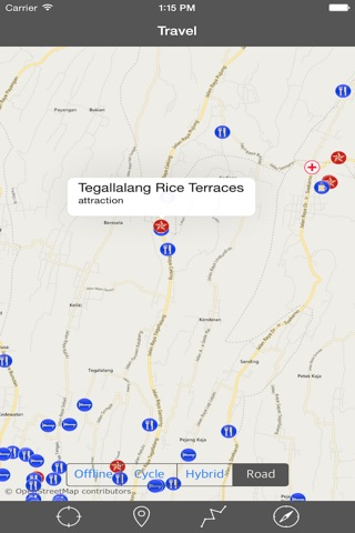 BALI (INDONESIA)– GPS Travel Map Offline Navigator screenshot 2