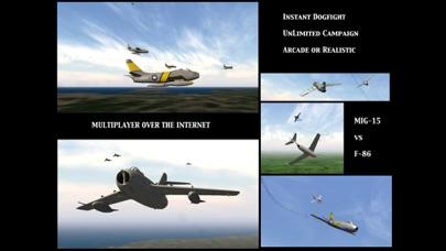Screenshot #6 for GSIII - Flight Simulator - Heroes of the MIG Alley