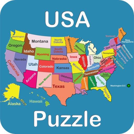 USA-Puzzle iOS App