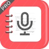 Voice Recorder with Text Pro: speech recogniser