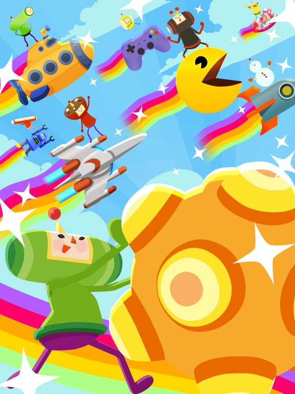 Игра Tap My Katamari - Endless Cosmic Clicker