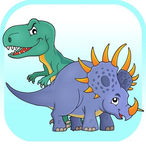 Dinosaur Coloring Book For Learning Preschool iOS App