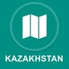Kazakstan : Offline GPS
