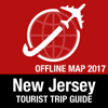New Jersey Tourist Guide + Offline Map