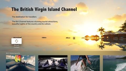 Screenshot #1 for British Virgin Islands Channel