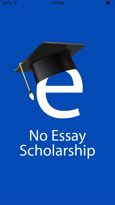 no essay scholarship search push to apply on the app store iphone screenshot 1