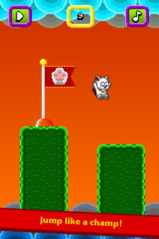 Jumpy Cat screenshot 2