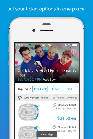 Ticketmaster screenshot 2
