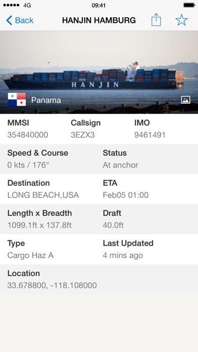 Ship Finder Screenshots